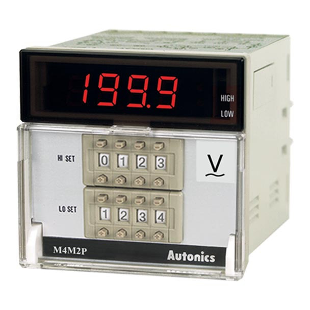 Autonics Controllers Panel Meters M4M2P SERIES M4M2P-AV-XX (A1550000302)