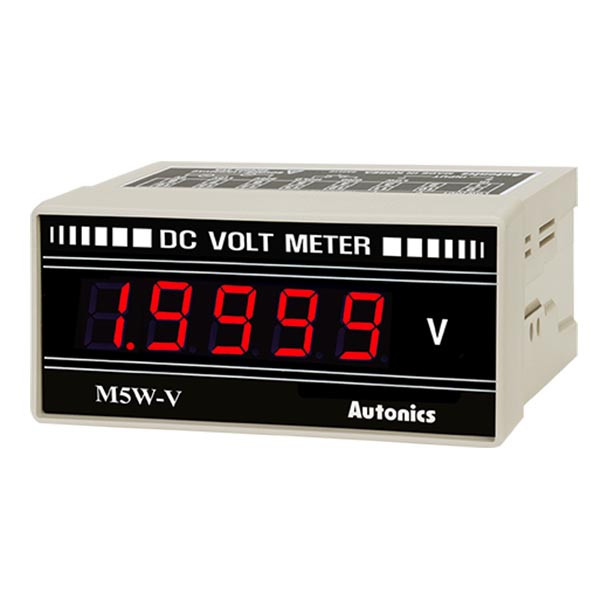 Autonics Controllers Panel Meters M5W SERIES M5W-DV-2 (A1550000314)