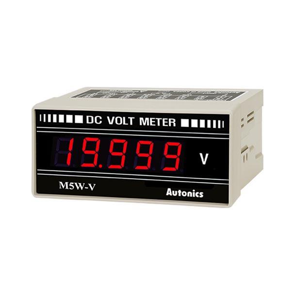 Autonics Controllers Panel Meters M5W SERIES M5W-DV-3 (A1550000315)