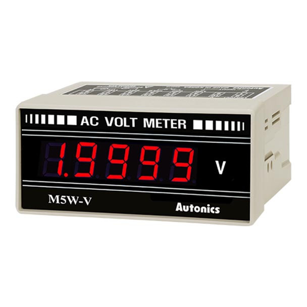 Autonics Controllers Panel Meters M5W SERIES M5W-AV-2 (A1550000328)