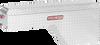 Model 171-0-01 Pork Chop Box, Aluminum, Passenger Side, 2.1 cu. ft