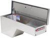 Model 173-0-01 Pork Chop Box, Aluminum, Passenger Side, 3.4 cu. ft.