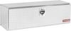 Model 660-0-02 Underbed Box, Aluminum, Compact, 11.2 cu. ft.