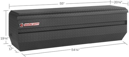 Model 664-52-01 All-Purpose Chest, Aluminum, Full, 13.1 cu ft