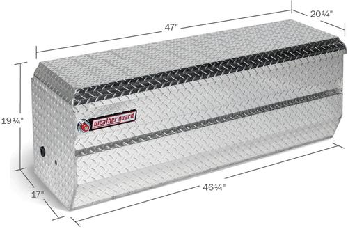 Model 674-0-01 All-Purpose Chest, Aluminum, Full Compact, 10.0 cu. ft.