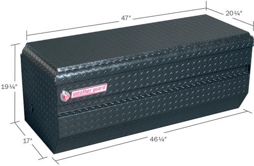 Model 674-5-01 All-Purpose Chest, Aluminum, Full Compact, 10.0 cu ft