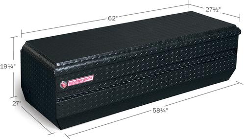 Model 684-5-01 All-Purpose Chest, Aluminum, Full Extra-Wide, 18.6 cu. ft.