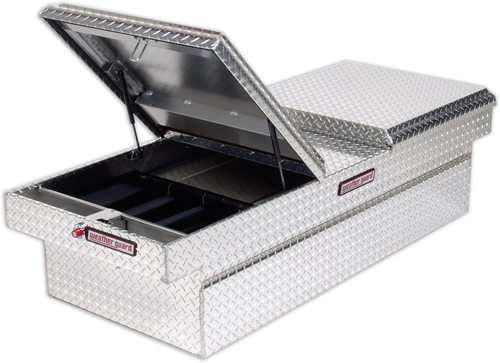 Model 114-0-01 Cross Box, Aluminum, Full Extra-Wide, 15.3 cu. ft.