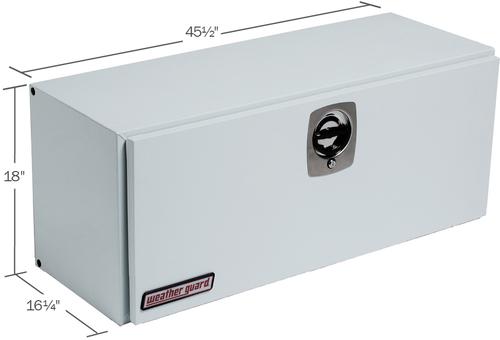 Model 247-3-02 Super-Side Box, Steel, 7.7 cu ft