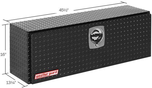 Model 346-5-02 Hi-Side Box, Aluminum, 11.8 cu. ft.