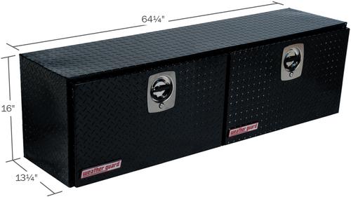 Model 364-5-02 Hi-Side Box, Aluminum, 7.9 cu. ft.