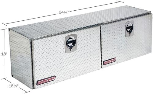 Model 365-0-02 Super Hi-Side Box, Aluminum, 10.8 cu. ft.