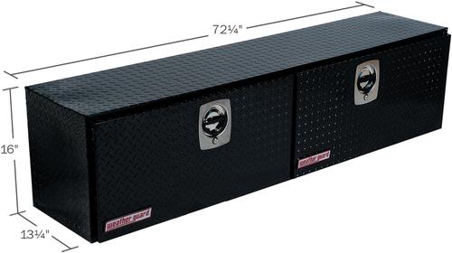 Model 372-5-02 Hi-Side Box, Aluminum, 8.9 cu. ft.