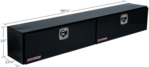 Model 396-5-02 Hi-Side Box, Aluminum, 11.8 cu. ft.