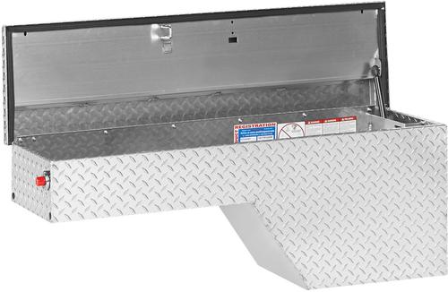 Model 172-0-01 Pork Chop Box, Aluminum, Driver Side, 3.4 cu. ft.
