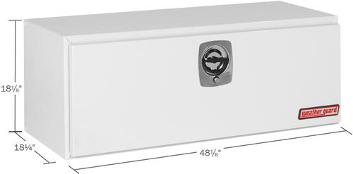 Model 548-3-02 Underbed Box, Steel, 9.1 cu. ft.