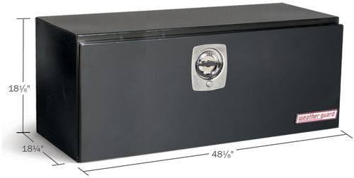 Model 548-5-02 Underbed Box, Steel, 9.1 cu. ft.