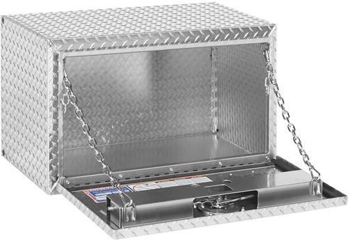 Model 631-0-02 Underbed Box, Aluminum, Compact, 5.4 cu. ft.