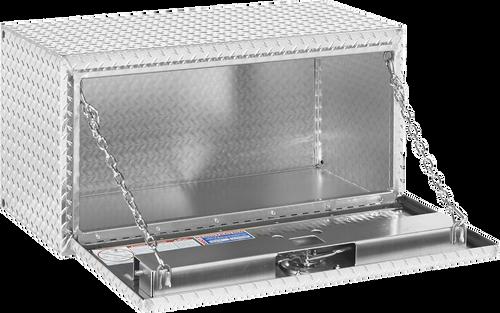 Model 636-0-02 Underbed Box, Aluminum, Compact, 6.5 cu. ft.
