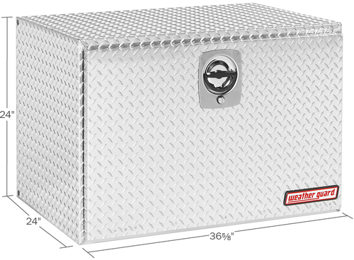 Model 638-0-02 Underbed Box, Aluminum, Jumbo, 12.2 cu. ft.