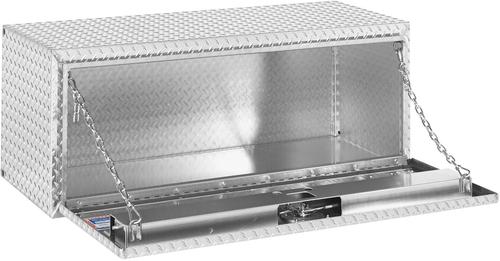 Model 648-0-02 Underbed Box, Aluminum, Compact, 8.6 cu. ft.