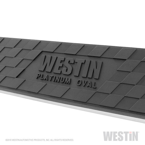 Westin Platinum 4 Oval Nerf Step Bars- Dodge