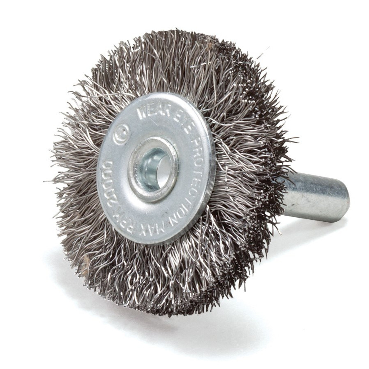 Wire Wheel With 1//4 In Shank 4 In