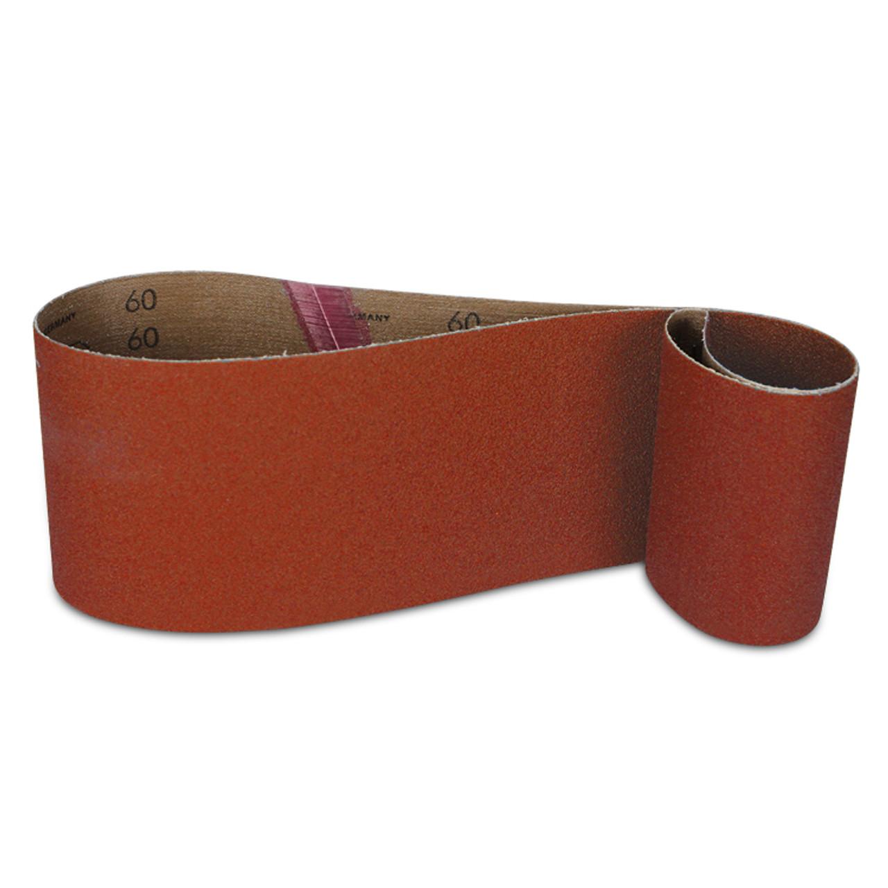 "10 PACK 4/"" x 36/"" Inch 100 Grit A//O Metal /& Wood Sanding Belts Medium Coarse"