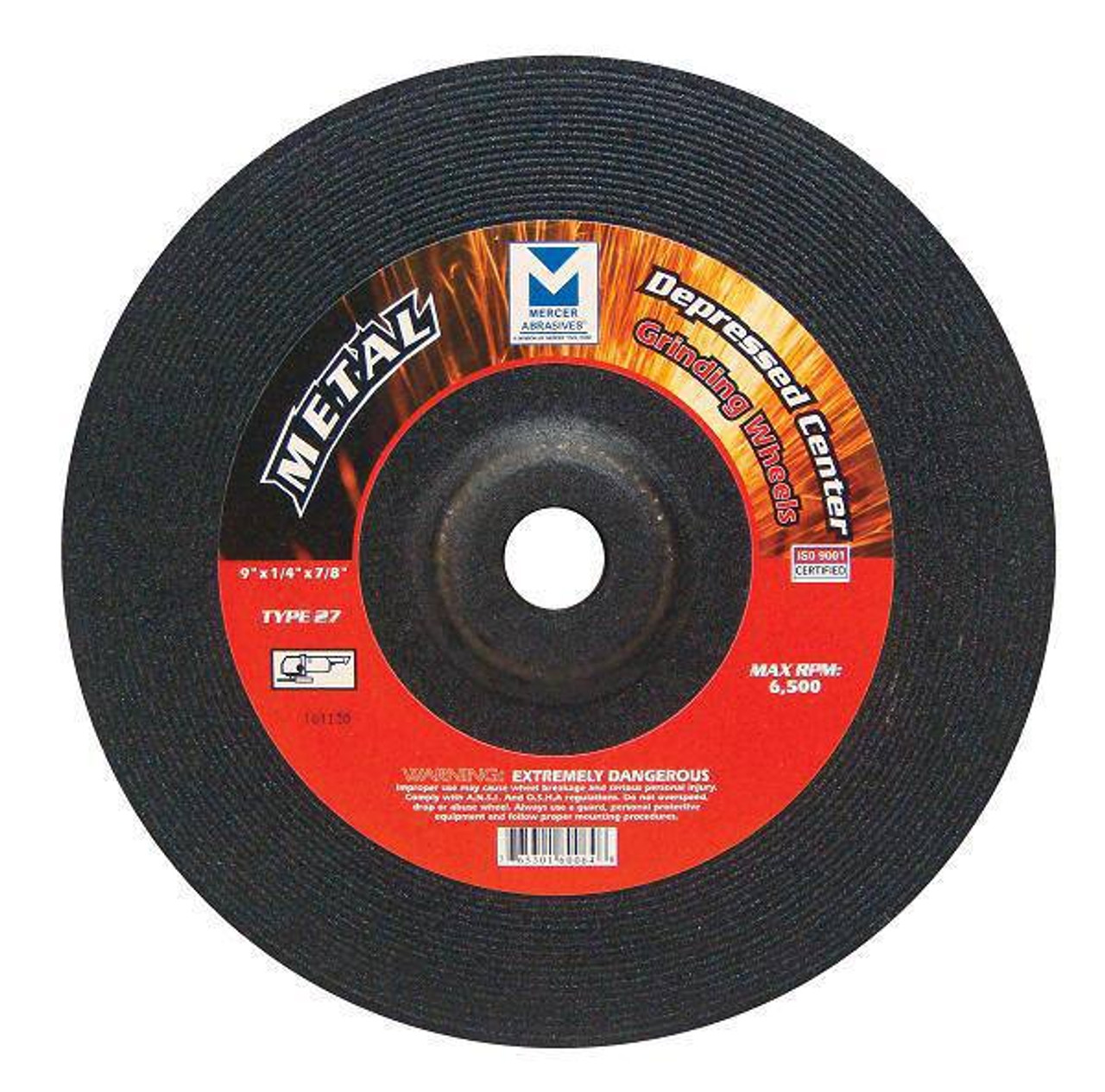 """10 Pro 9-inch x1//4/""""x7//8/"""" Metal Grinding Wheel Angle Grinder Tool Disc Type 27"""