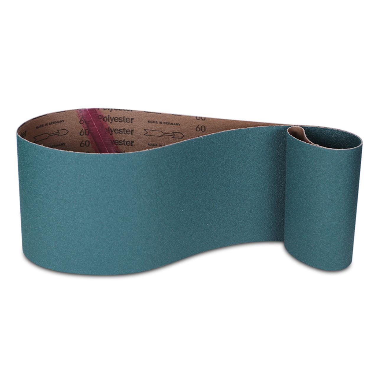 1 Wide x 42 Long Zirconia Alumina Abrasive Belt 180 Grit