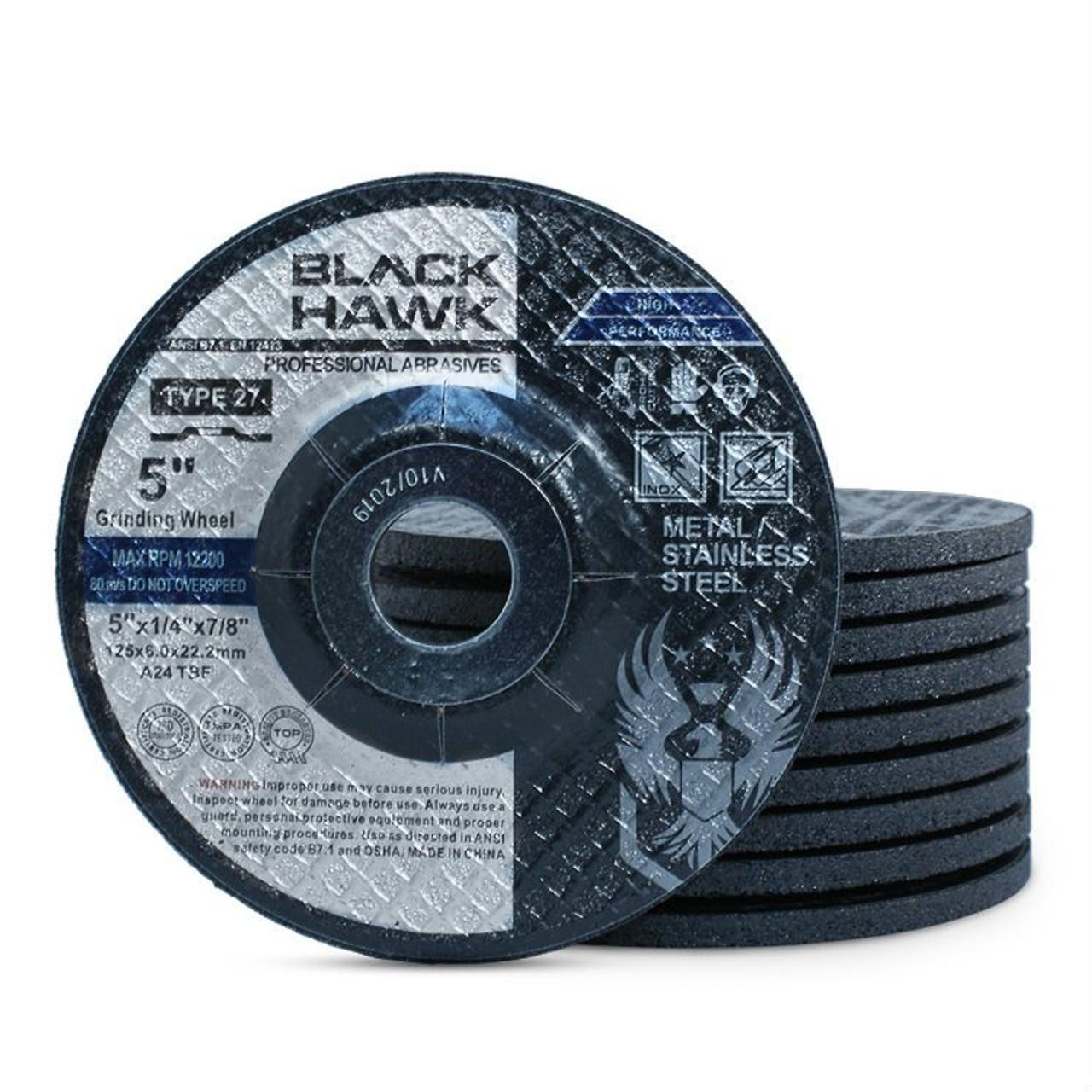 4 in Disc Dia Aluminum Oxide 42 Units Non-Woven Finishing Disc