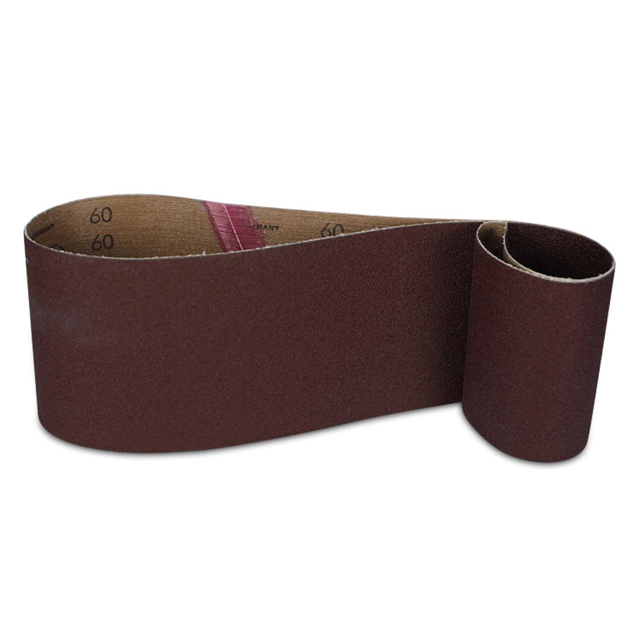 3 Pack 4 X 24 Inch 400 Grit Aluminum Oxide Metal Sanding Belts