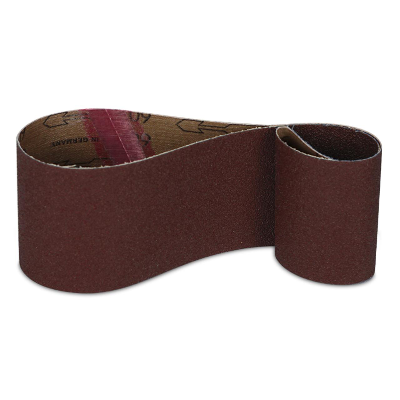 "10 PACK 1/"" x 42/"" 220 Grit Aluminum Oxide Metal /& Wood Sanding Belts Fine"