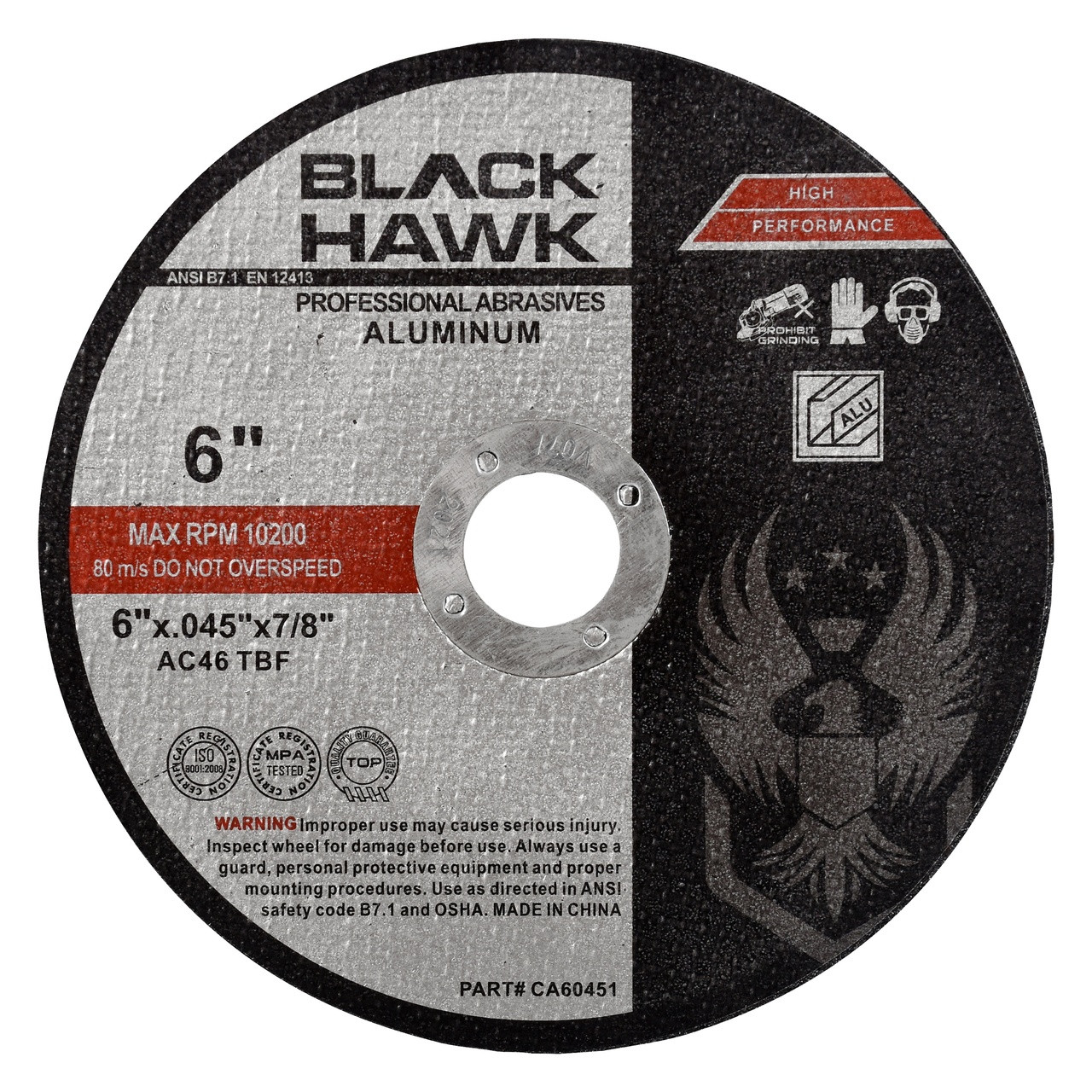 """25 Pack 5/""""x.045/""""x7//8/"""" Professional Metal Steel Cutting Cutoff Wheel"""