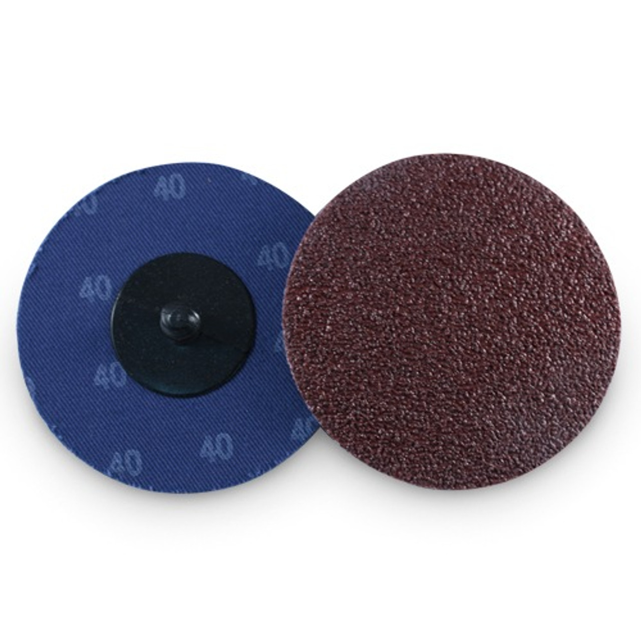 "200-3/"" Roloc A//O Quick Change Sanding Disc 80 Grit and Mandrel"