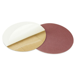 Utoolmart 12 Inch No Hole Adhesive Back Sandpaper Aluminum Oxide 80 Grit Sanding Disc Self Stick Sanding Pad Abrasive Multipurpose Abrasive Grinding Polishing Tool 5pcs