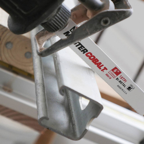 PACK 5 BI-METAL AIR SAW BLADE 24 TPI FOR CUTTING METAL 1-2 mm