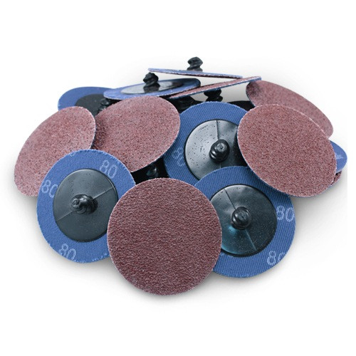 2 Roloc A//O Quick Change Sanding Disc 120 Grit and Mandrel Disc Holder 25 Pack