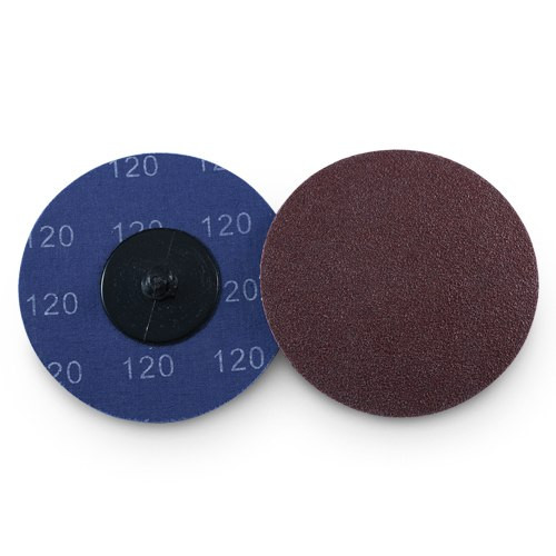 "Type R Roloc 200 Pack 2/"" 60 Grit A//O Quick Change Sanding Disc Black Hawk"