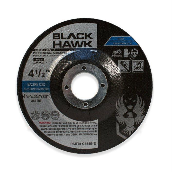 16 Pack Hardness Grade N 1//4 in Thick 5//8 Arbor Depressed Center Wheel 4 1//2 in Dia