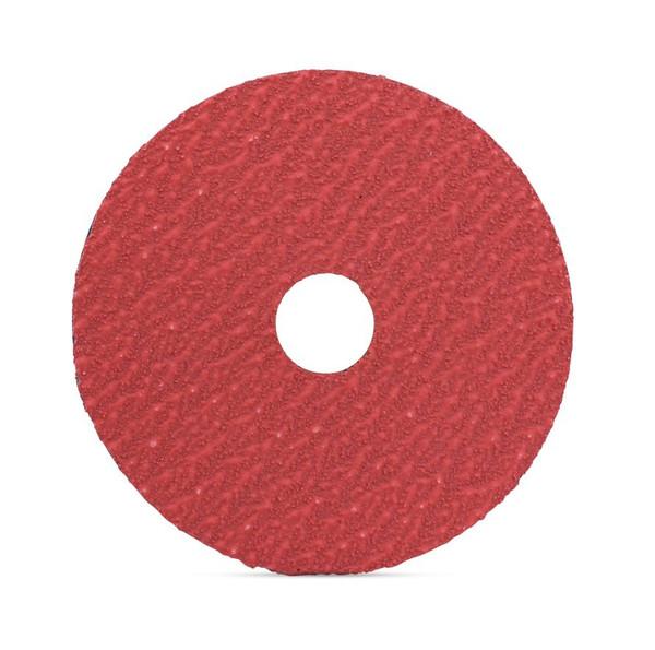 "4.5/"" Zirconia Resin Fiber Disc 120 Grit 4-1//2/"" Grinding /& Sanding Disc 25 Pack"