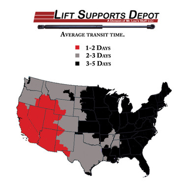 Strong Arm 6303 Hood Lift Support for 819-6564 5065279AD E95324 5065278AD dm