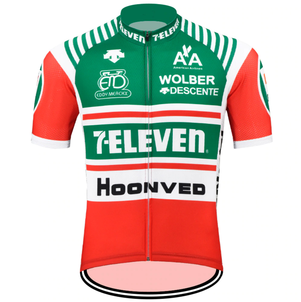free shipping 87561 4f7f2 Retro 7-Eleven Descente Cycling Jerseys