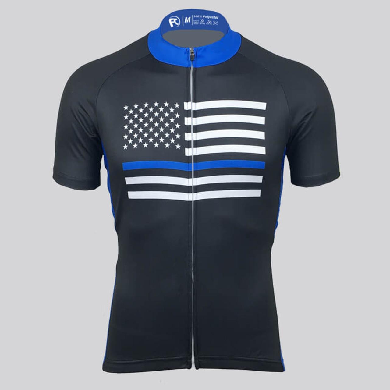 Alaska Flag Cycling Jersey Short Sleeve