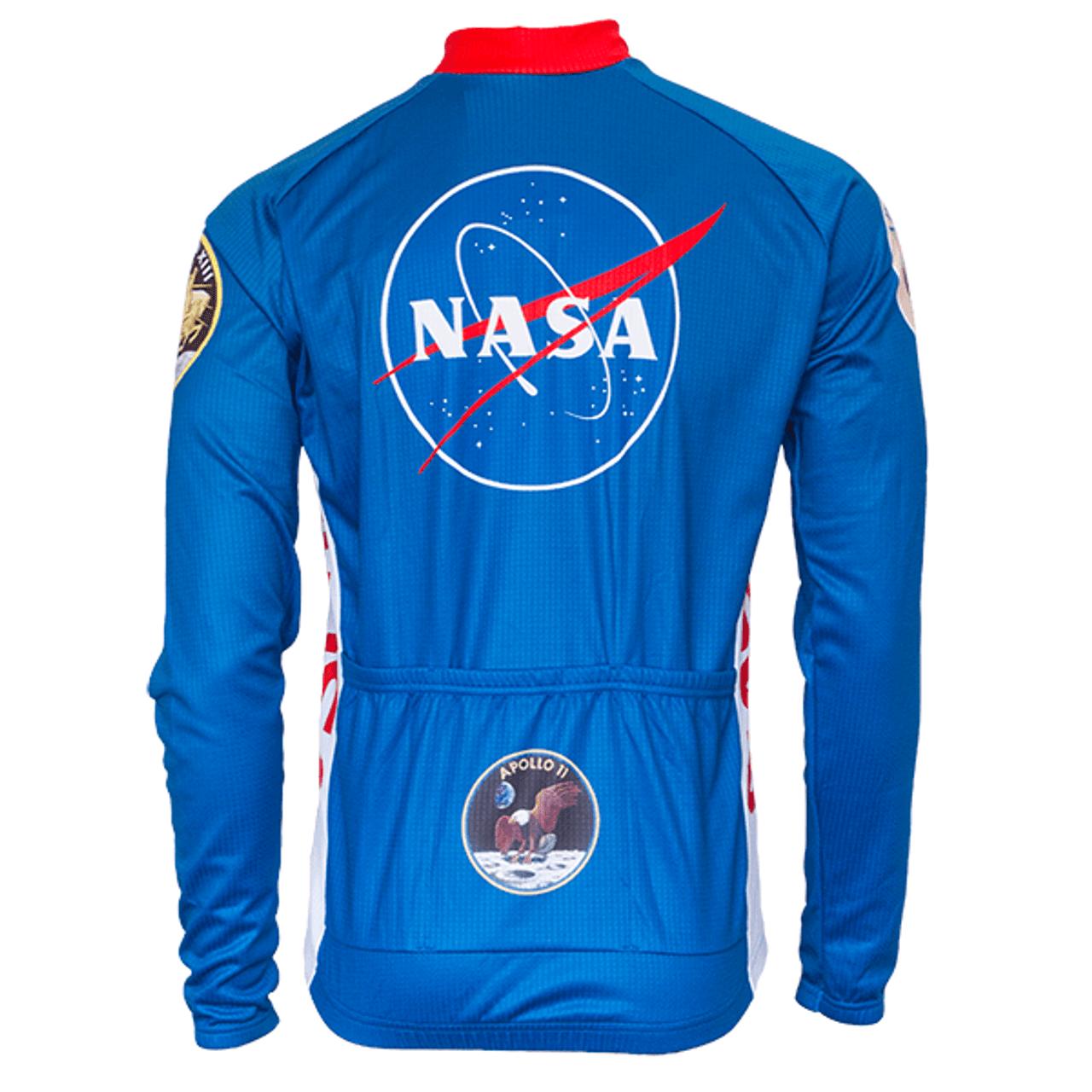 NASA Cycling Jersey Long Sleeve