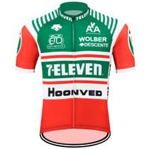 Retro 7-Eleven Descente Cycling Jersey