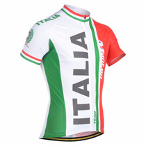 Italy Natinal Flag Team Mens Cycling Kits