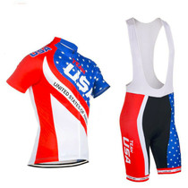 USA Natinal Flag Team Mens Cycling Kits