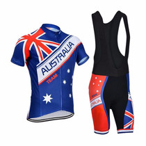 Australia Natinal Flag Team Mens Cycling Kits