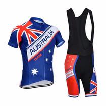 Australia Natinal Flag Team Mens Cycling Kits